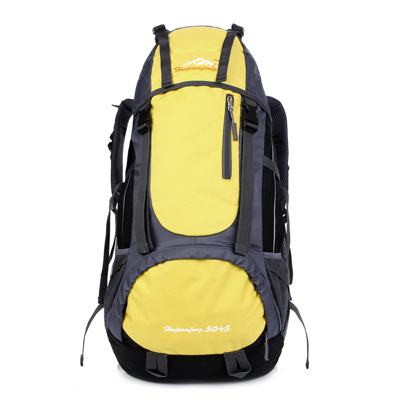 Mountain Climbing Backpack Camping Backpack Waterproof Men ...