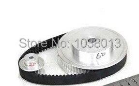 Шкивы зубчатого ремня/комплект синхронного замедления ремня 3 м(3:1) гравировальный станок с ЧПУ Запчасти продается в упаковке