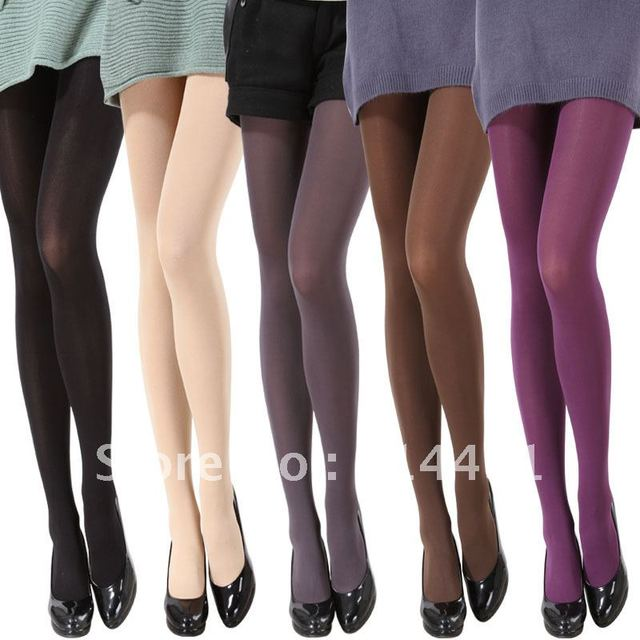 61abecc0adf37 Women Long Socks stockings legging velvet tights multicolour pantyhose  autumn and winter thick Warmer stockings Free Shipping