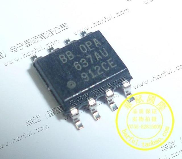 5pcs/lot OPA637 OPA637AU SOP8 new original