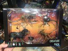 6 polegada Original NECA Aliens Vs Predator Figura Cão Estrangeiro 3 Delune Criatura Pack Action Figure Modelo Toy Boneca(China)