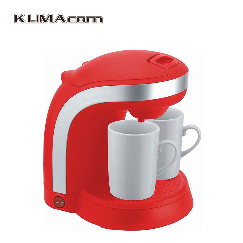 Nice design Drip Coffee machines for cups Black New Home Appliances Washable coffee filter double cup coffee maker Kaffee gift box set handleless pot pillar cup filter cup drip coffee maker grinder home use can send a person top grade coffee gift box
