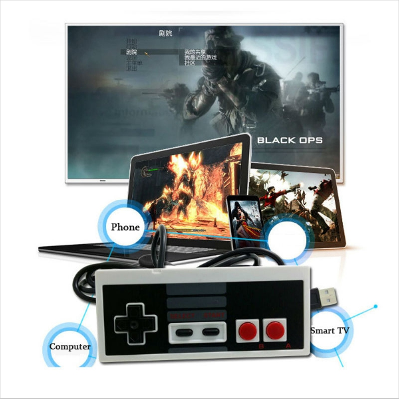 USB Controller Gaming Gamer Controll JoyStick Joypad Hot Classic Controller Gamepad For NES Windows PC for MAC Computer Game