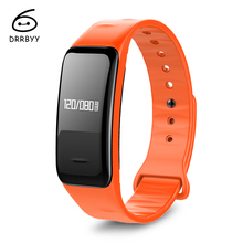 DRRBYY C1 Bluetooth Smart Bracelet Oxygen Blood Pressure Heart Rate Monitor Pedometer Smart Wristband for IOS & Android Phone