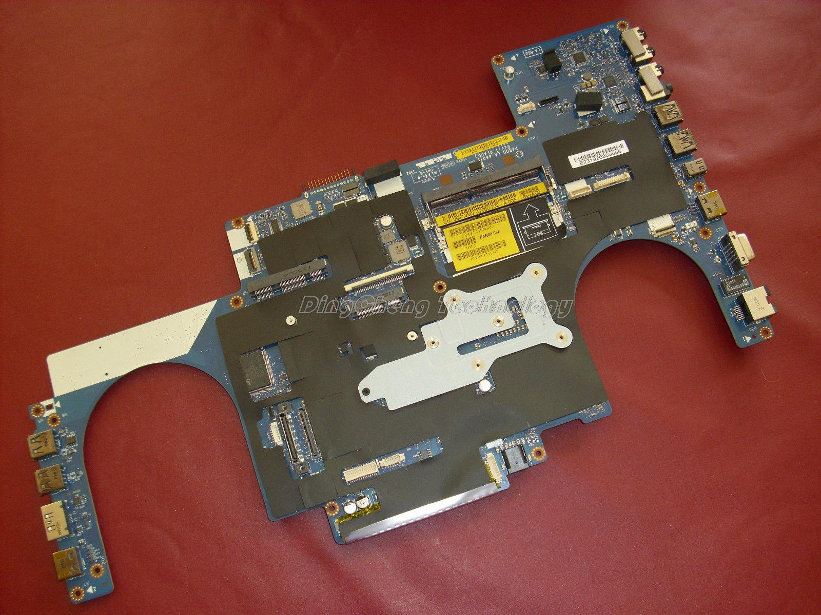 laptop Motherboard/mainboard for dell Alienware M17x R3 LA-6601P 0GFWM3 CN-0GFWM3 for intel i7 cpu 100% tested Fully free shipping for dell e6510 laptop motherboard mainboard cn 0ncpcn al22 la 5573p non integrated fully tested good condition