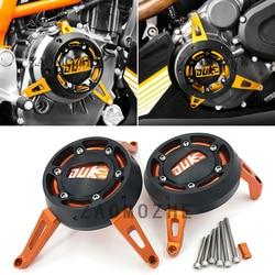 Motocykl CNC pokrywa silnika suwak ochrona ramy stojan silnika przypadku wygaszacz dla KTM 390 DUKE 200 RC390 RC200 2013 2014 2015