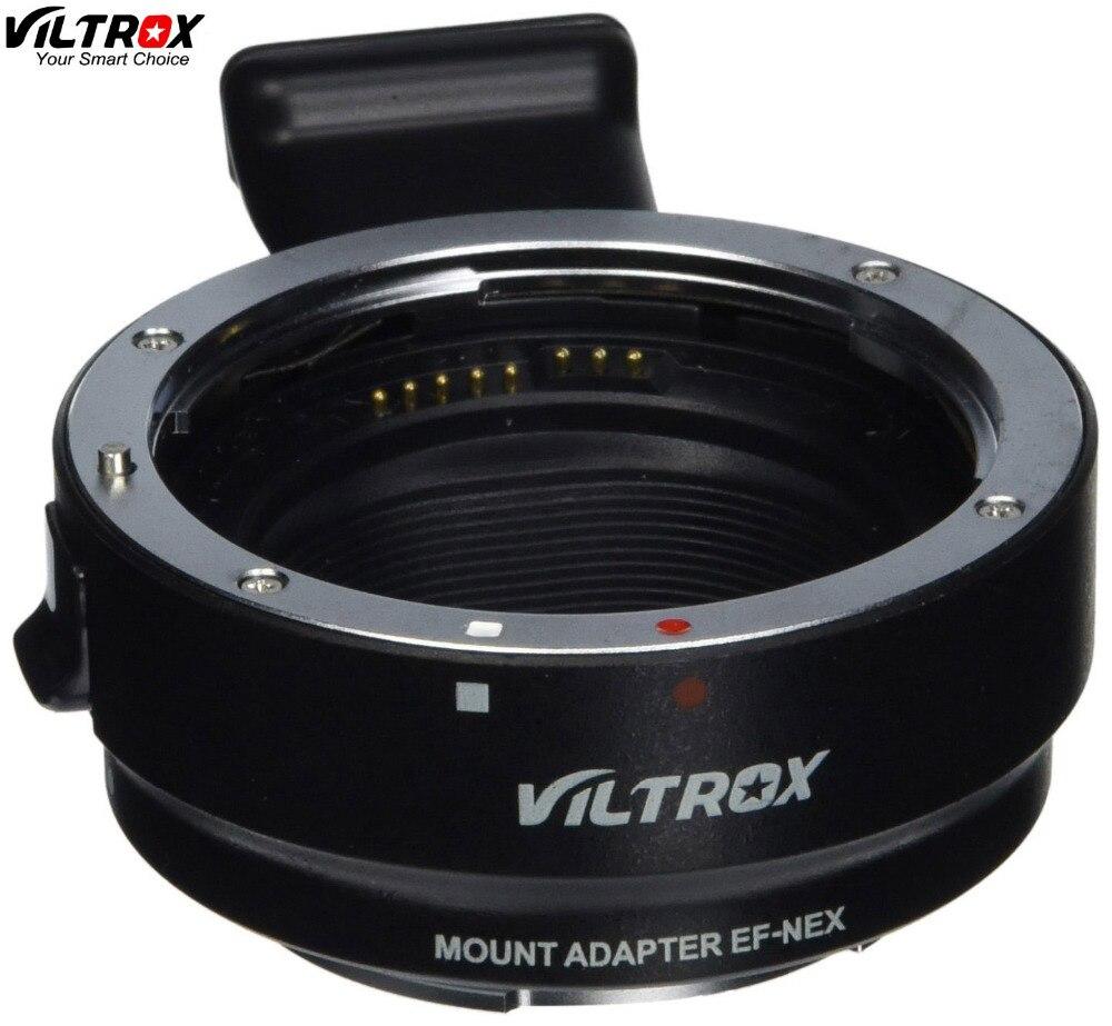 Viltrox EF-NEX Adaptateur Auto Focus Lens pour Canon EOS EF EF-S Lens pour pour Sony NEX E Plein Cadre A7 a7R A7SII A6300 A6000 NEX-7