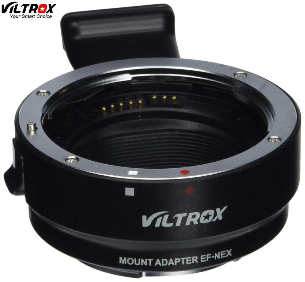 Viltrox EF NEX Auto Focus Lens Adapter for Canon EOS EF EF S Lens to for Sony E NEX Full Frame A7 A7R A7SII A6300 A6000 NEX 7