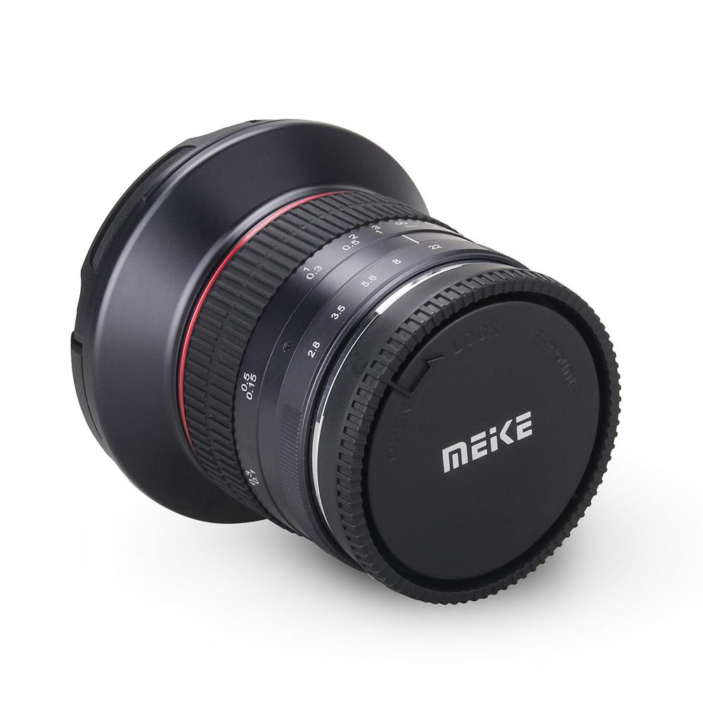Meike 12mm f/2.8 Ultra Wide Angle Fixed Lens with Removeable Hood for Sony Mirrorless E-Mount Digital SLR camera A7 A7S A7R II meike 12mm f 2 8 wide angle fixed lens with removeable hood for panasonic olympus mirrorless camera mft m4 3 mount with aps c