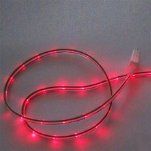 For Android Mobile phone Fast charging Wire font b LED b font font b EL b