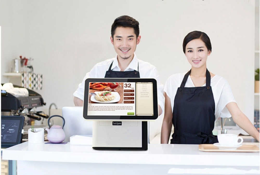 15.6 Inch 1280*800 Embedded All-in-One Computer Industrial Touch