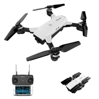 YH 19HW Drones With Camera HD Wide Angle Lens 720P Quadrocopter For Sale Foldable Dron Real