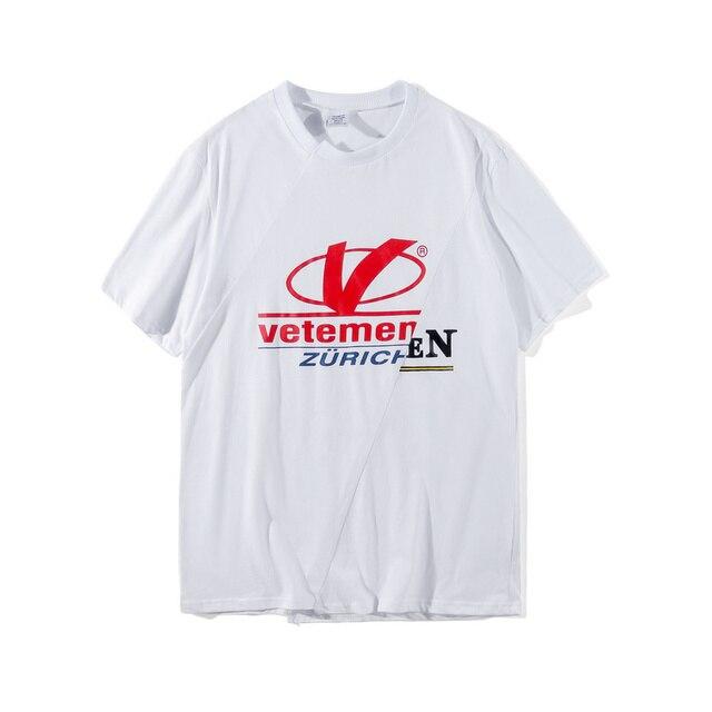 2018 Summer Best Version Sup Vetements Zurich Logo Embroidery