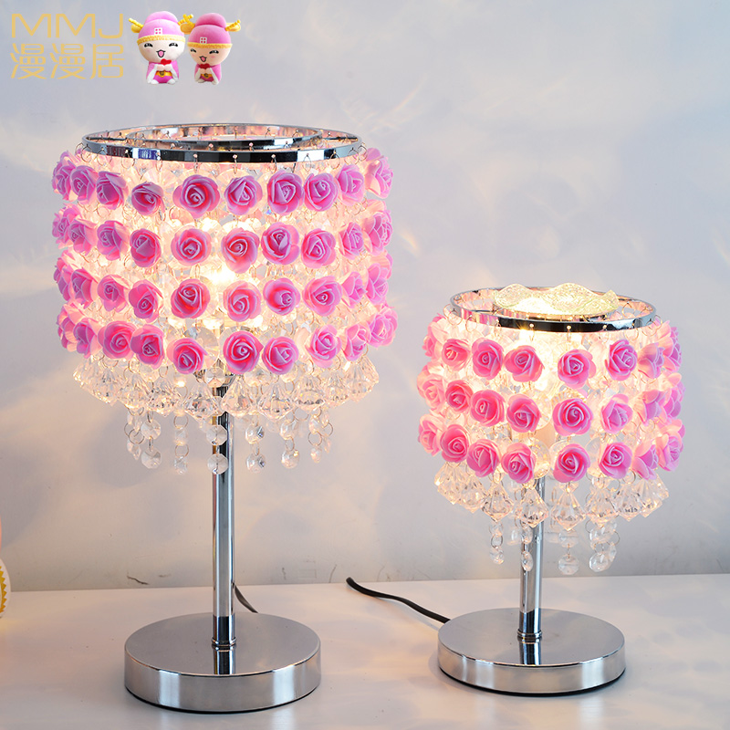table lamp flower bedroom bedside lamp Table Lamps Personalized ...