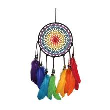 Handmade Dream Catcher Large catcher Bohemian Decor, 60cm X 20cm Boho Chic Dreams Catchers Window Hanging Wall Arts
