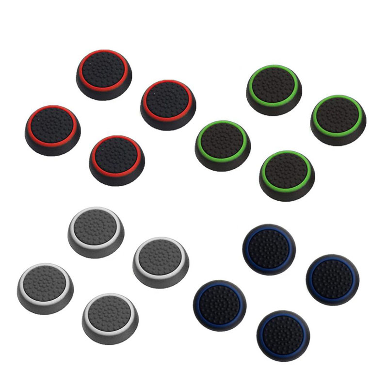 Thumbstick Grips Cap Joystick Cover Case For Sony PlayStation Dualshock 3/4 PS3 PS4 Xbox One 360 Nintend Switch Pro Controller