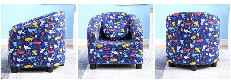 children sofa cartoon girl Princess 4 14 year old kids schoolboy lazy sofa seat disassembly and washing in Children Sofas from Furniture