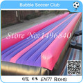 Free Shipping 20 feet Inflatable Gym Mat For Gym Training,Inflatable Tumble Mat
