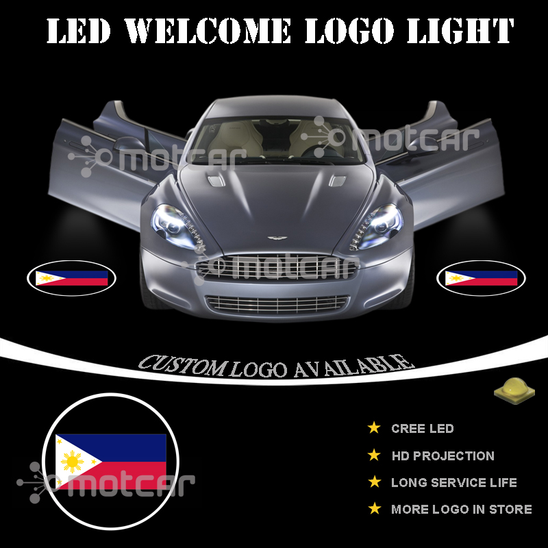 white shelby cobra logo car door led courtesy laser projector ghost shadow light auto parts and vehicles car truck led light bulbs magenta cl magenta