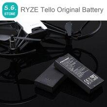 100% Оригинальный летный Аккумулятор для DJI RYZE Tello специально изготовлен для Tello аксессуары батареи зарядный концентратор