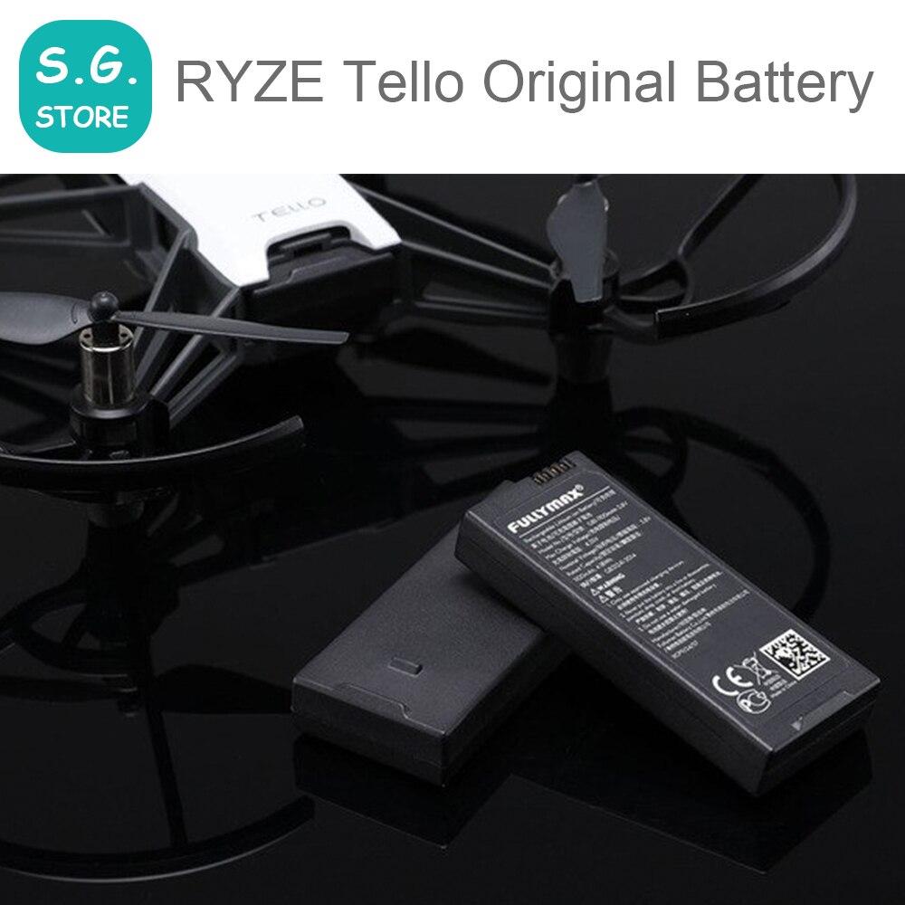 100% ursprünglichen Flug Batterie für DJI RYZE Tello Speziell gemacht für Tello Zubehör Batterien Lade Hub