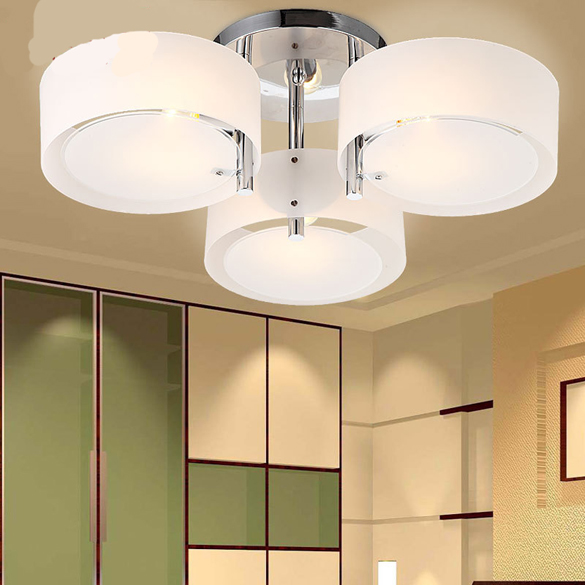 Led ceiling light for living room lighting modern for Modern living room ceiling lights
