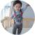 Meninos bonitos do bebê do leão impressão suspender calças Infantis calças Recém-nascidos Do Bebê menino e menina dos desenhos animados calças casuais das Crianças longa pant