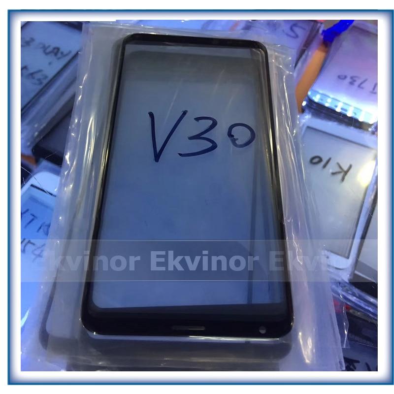 308077ba964 Mejor calidad Refurbish LCD de pantalla frontal de Lentes de vidrio exterior  para LG V30 H930 H931 H932 6 pulgadas Panel táctil reparación de vidrio