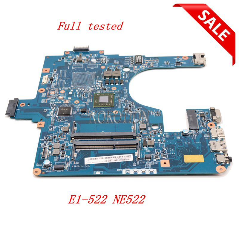 NOKOTION NB.M8111.00N EG50 KB MB 12253 3M 48.4ZK14.03M NBM811100N For acer aspire E1 522 motherboard  warranty 60 days-in Motherboards from Computer & Office