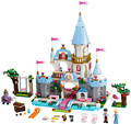 New Building Block SY325 Cinderela Castelo Romântico Princesa Amigo Brinquedo Conjuntos de Blocos de Tijolos Mini Menina compatível lepin