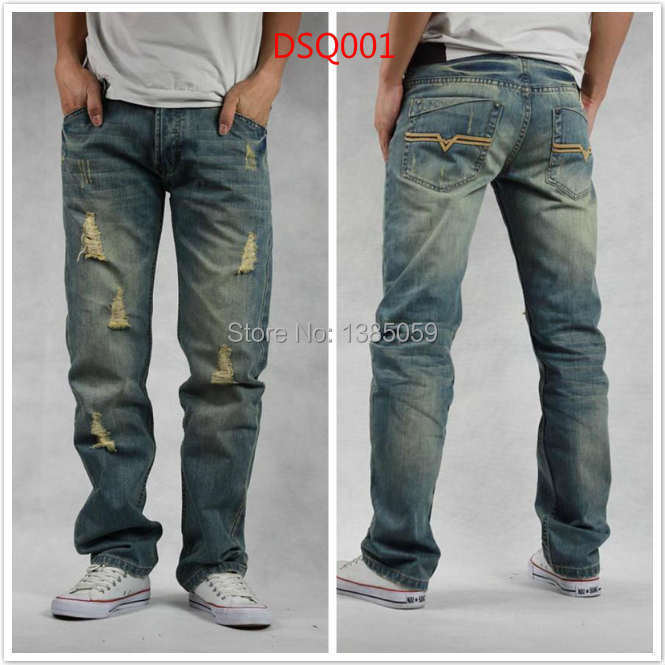 Aliexpress.com : Buy Free Shipping ! 2014 rock mens jeans italian ...
