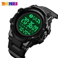 Reloj inteligente de moda SKMEI reloj inteligente de pulsera con Bluetooth para hombre, aplicación de llamada para hombre, recordatorio de mensajes, reloj inteligente para Huawei Xiaomi 1501