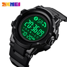 SKMEI Fashion Smart Watch Men Bluetooth Wrist Smartwatch Mens Call APP Message Reminder reloj inteligente For Huawei Xiaomi 1501(China)