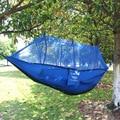 Открытый отдых гамак сети играть двойные парашют ткань безопасности анти падения открытый кемпинга москитная