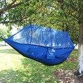 Acampamento ao ar livre rede redes jogar dupla parachute pano segurança anti queda de acampamento ao ar livre do mosquito