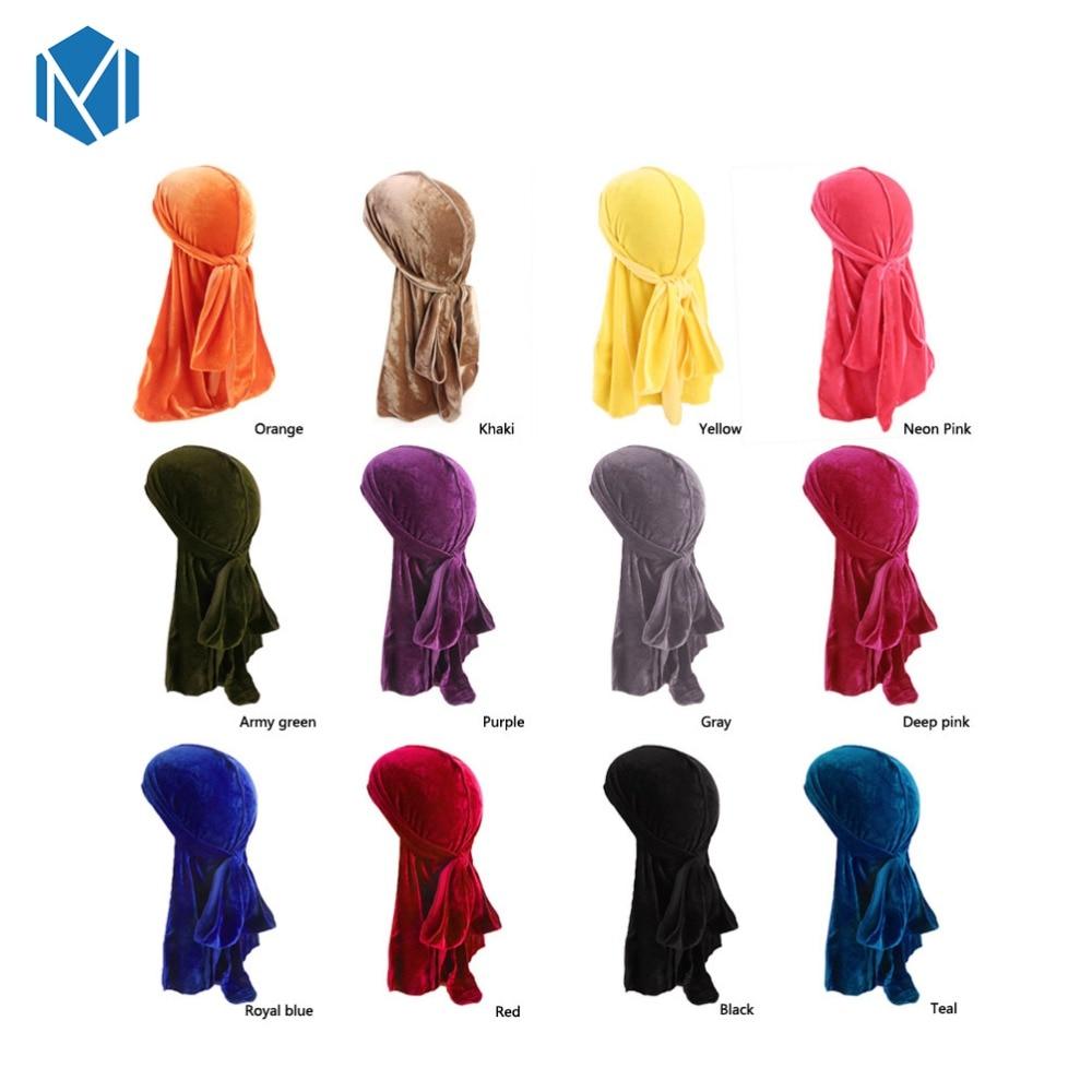 Silk Durag Satin Mens Durags Wig Bandanna Pirate Hat Bandeau Cheveux Women Head Wrap Elastic Headband Professional Design Apparel Accessories