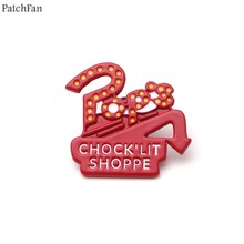 Patchfan riverdale Brooches for men women Zinc Enamel Pins Jewelry insignia For shirt backpack bag shoe decoration Badges A0932(China)