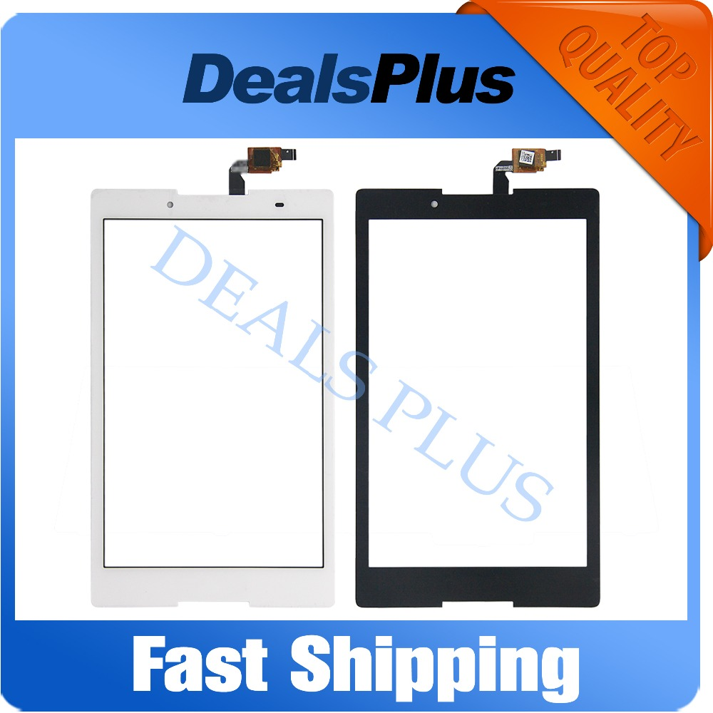 Replacement New Touch Screen Digitizer Glass For Lenovo Tab <font><b>2</b></font> A8-<font><b>50</b></font> A8-50F A8-50LC 8-inch Black White image