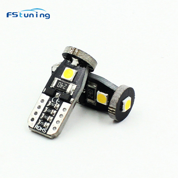 10Pcs W5W T10 LED Canbus Bulbs 168 194 LED Car Light For BMW E46 E36 E39 E60 E90 E91 E91 Z4 X1 X3 X5 Car Interior Dome Light 12V image