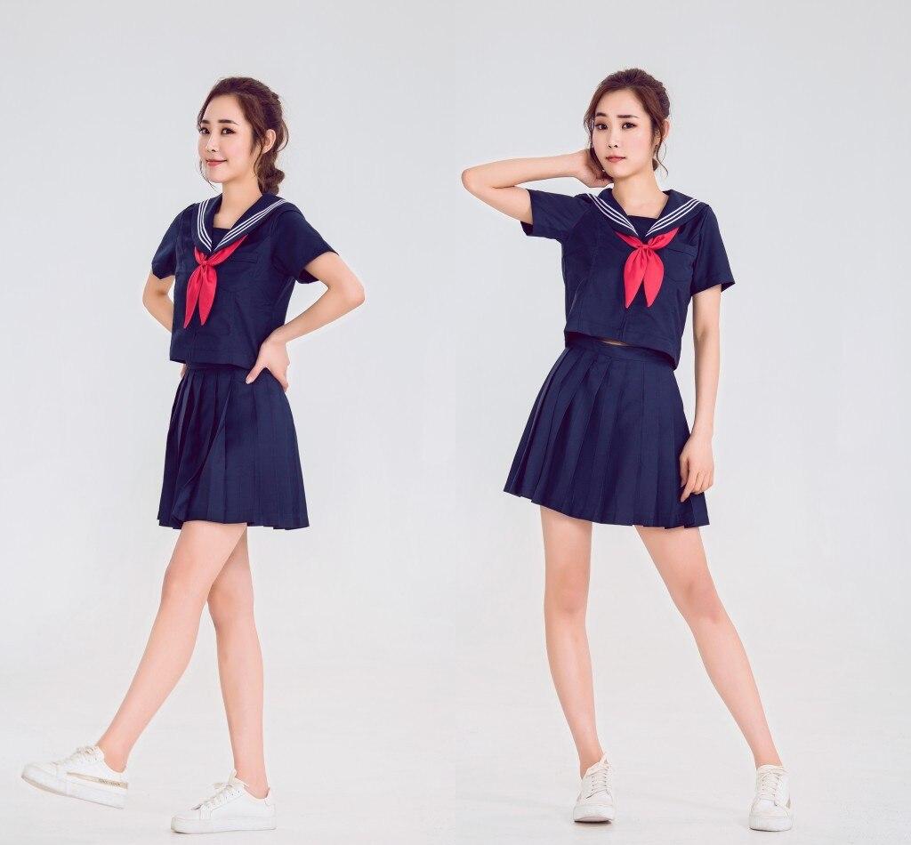Japanese Uniform Skirt School Uniform Suit Student Class Clother School Girl Uniform