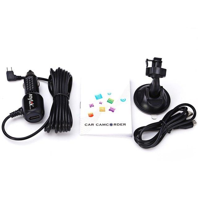 Anytek A3 Car Camera DVR Video Recorder Super Night Vision Dash Cam G-Sensor 1080P with Sony IMX322 CMOS Chipset Car Camera
