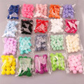 100Pcs/Lot Mini 15mm Multifunction Colorful Pompoms Soft Pom Poms Ball DIY Craft Card Making Wedding Decoration Accessories