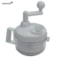 1 Piece Essential Chopper Multifunctional White Color Hand Speedy Device Vegetable Fruits Stuff Chopped Shredder Hand