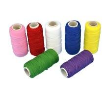 Linha de náilon que faz a estocagem flores elasticidade bobina cabo tela flor material acessórios artesanais