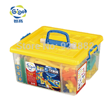 GIGO 127PCS 26 Models HAPPY ORBIT GROUP(M) Safety & Environmental Plastic Material Blocks Children's Toys #7351