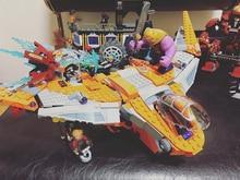 SuperHeroes Thanos Ultimate Battle marvel fit legoings Avengers 4 endgame Infinity Wars 76107 Building Block bricks Toy kid gift