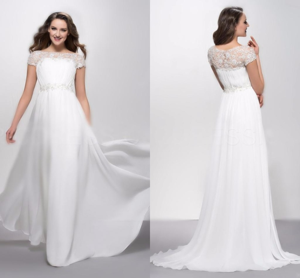Fantastic Plus Size White Formal Gowns Collection - Wedding and ...