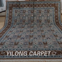 Yilong 10'x14' cheap contemporary rugs exquisite four saeson area carpet for living room (1492)