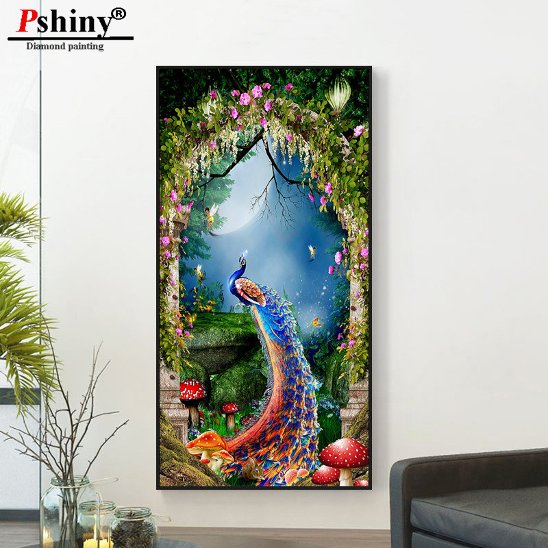 Pshiny 3d diy diamond embroidery cross stitch diamond painting - Arts, Crafts and Sewing - Photo 1