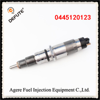 Free Shipping/0445120123 high quality fuel injector of common rail diesel engine